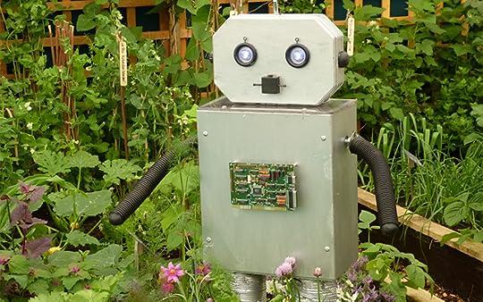 Risultati immagini per a robot in the garden