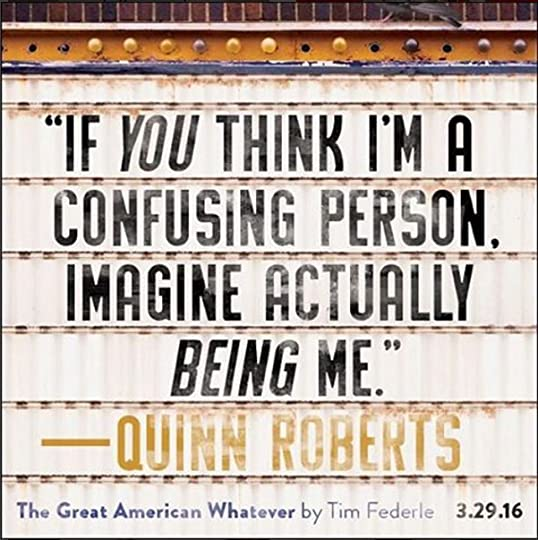 Image result for quinn the great american whatever quote