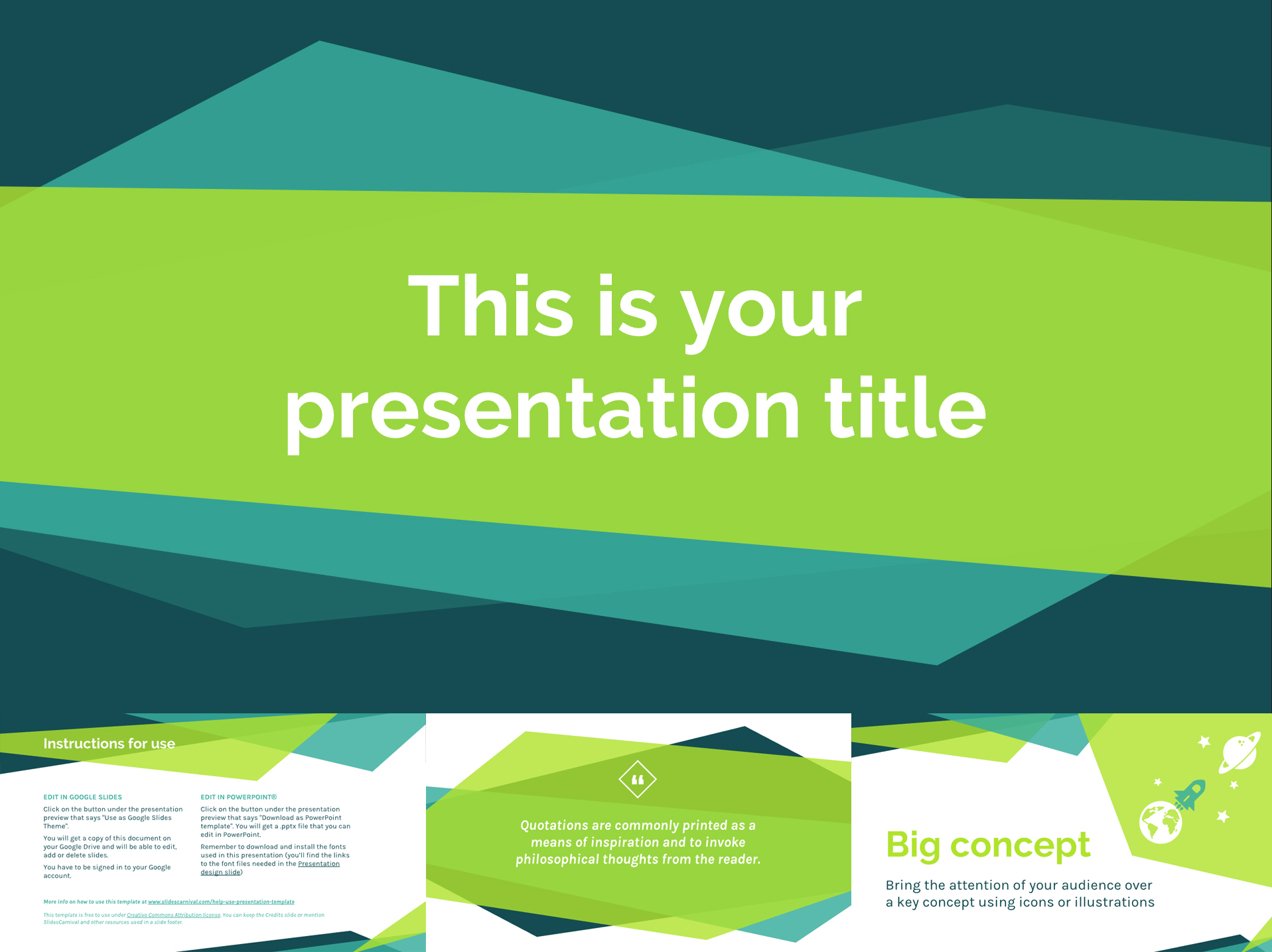 Free Google Slides Templates in Fresh Colors - The Internet Tips