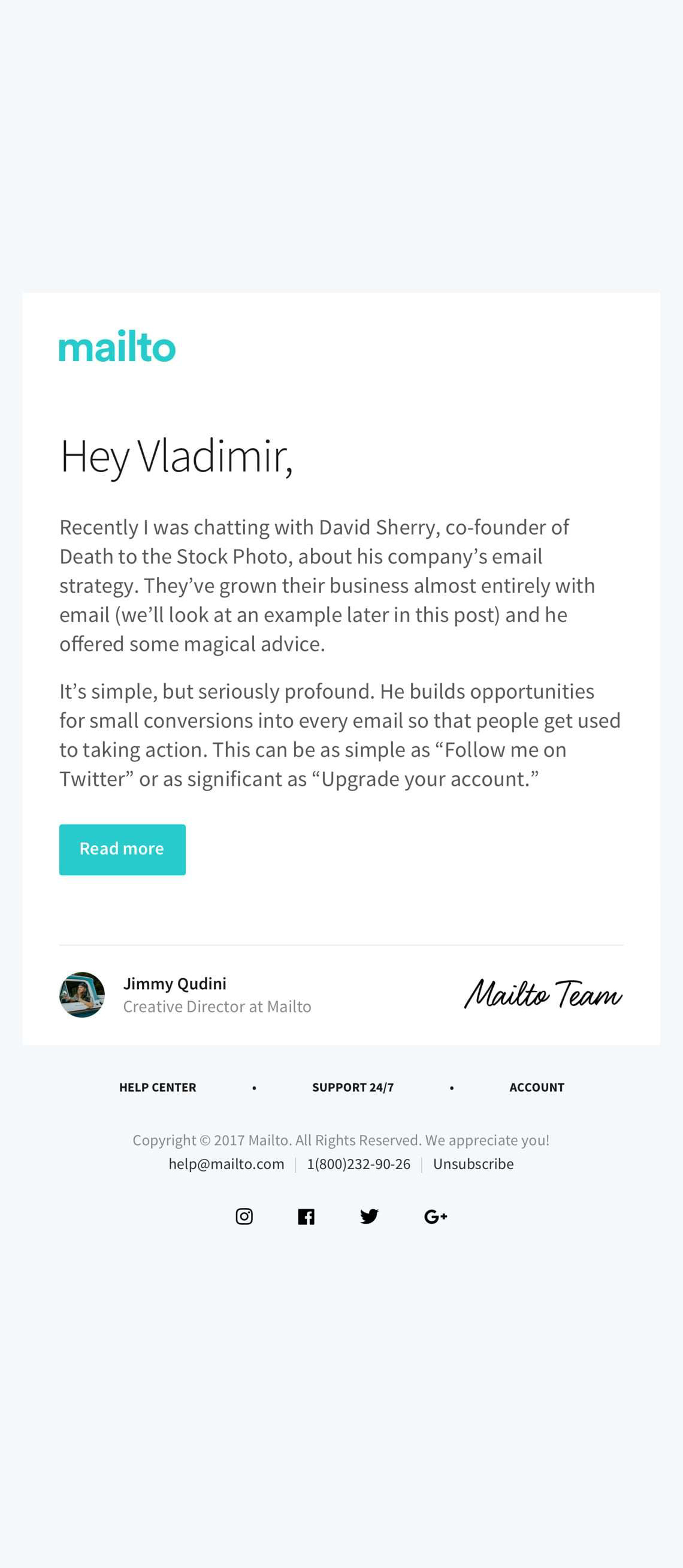 99 Free Responsive Html Email Templates To Grab In 2020