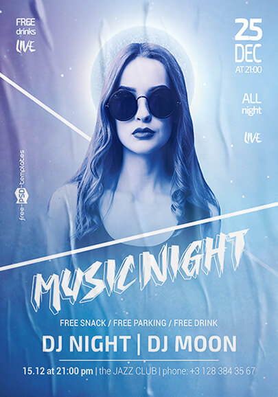 70 free psd party flyer templates to