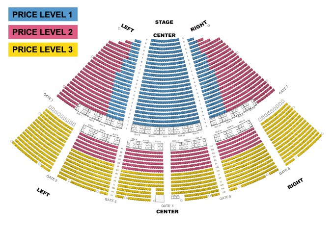 Ravinia lawn seating chart viewkaka co