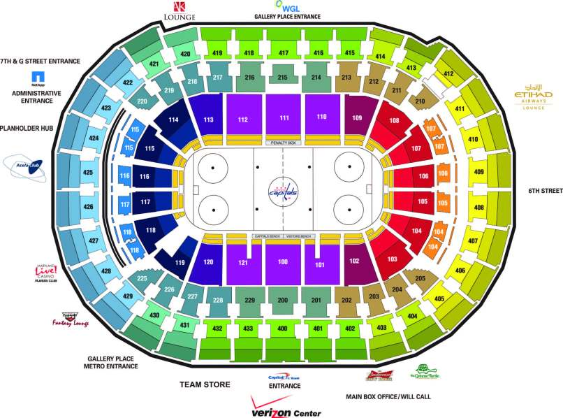 Verizon Center Wizards Seating Chart Wajihomeco