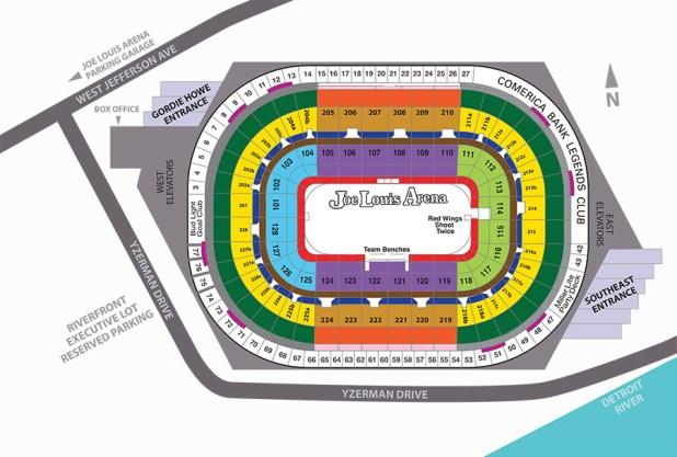 Joe Louis Arena Suite Seating Chart Brokeasshome Com