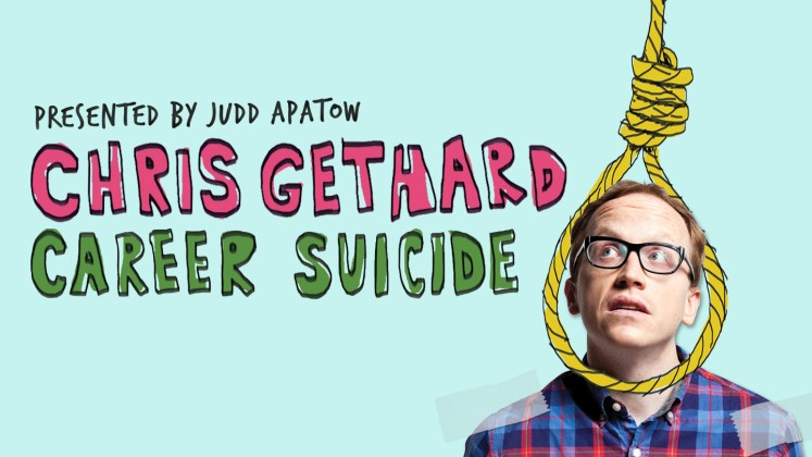 Resultado de imagen de chris gethard career suicide