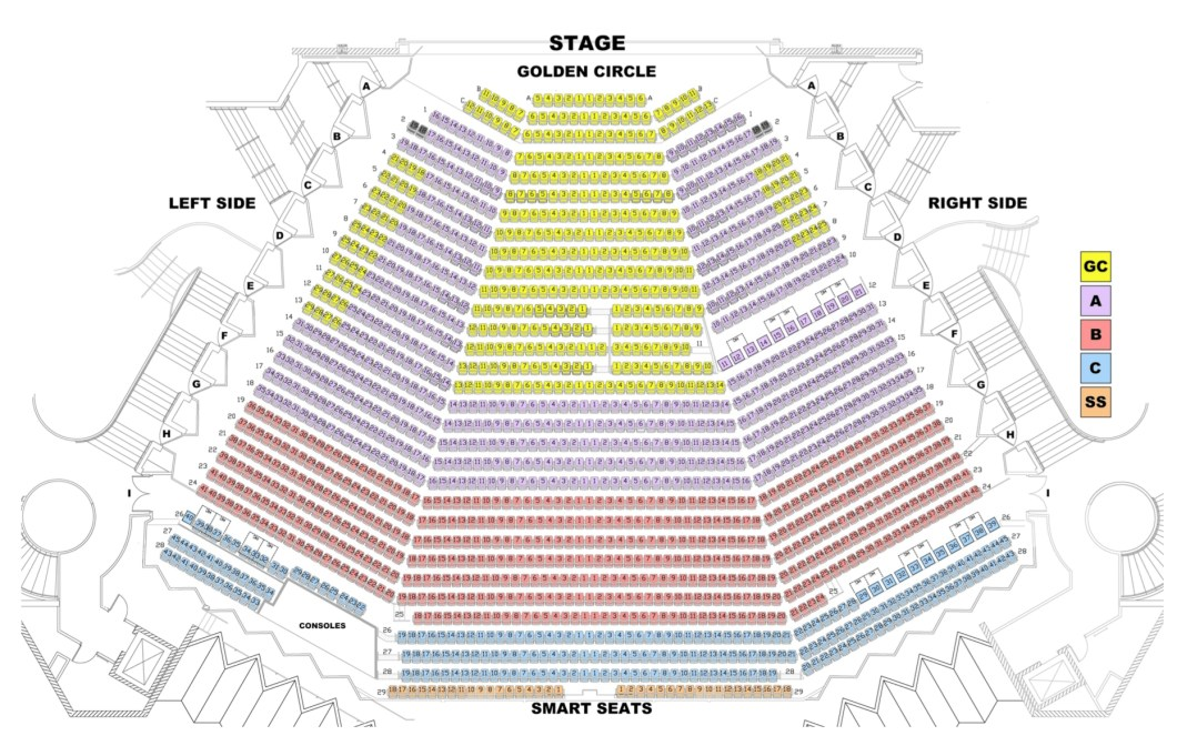 Barbara Mann Performing Arts Center Seating Chart Wallseatco