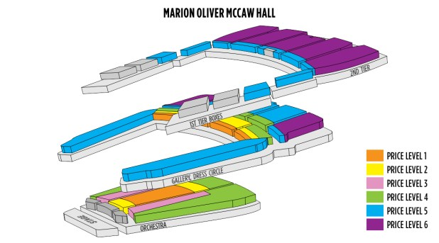 Seating Chart Mccaw Hall Seattle Brokeasshome Com