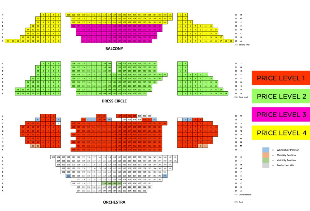 Wiltern Theatre Seating Chart Wallseatco
