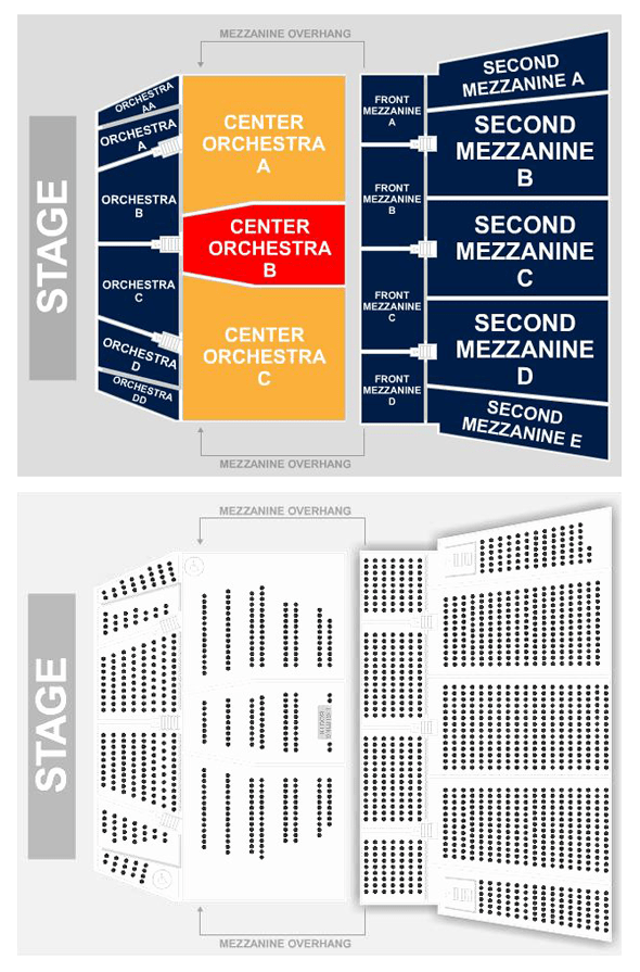 St george theater seating chart for 13 a table theatre saint georges