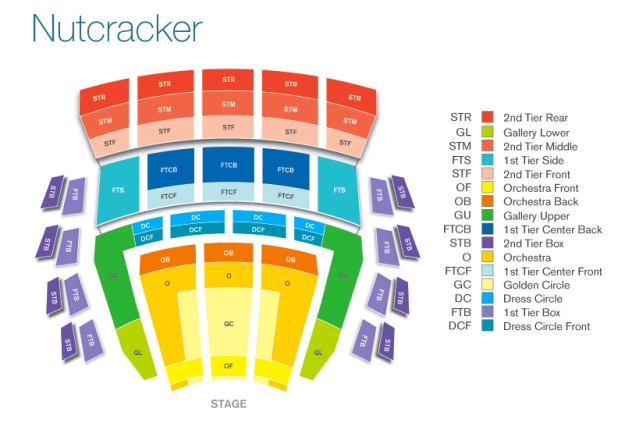 mccaw hall seating chart | Brokeasshome.com