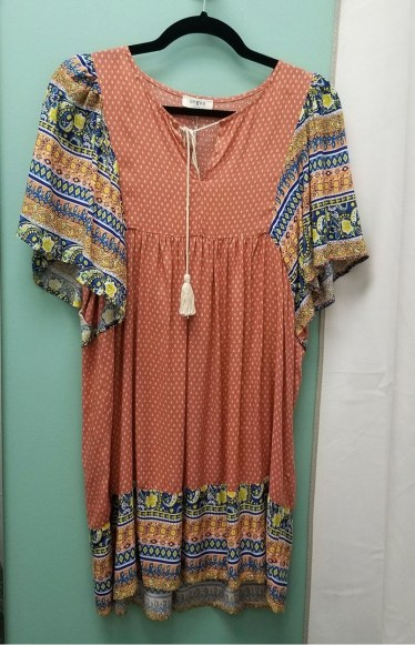 Sassy and Southern Boho Dress