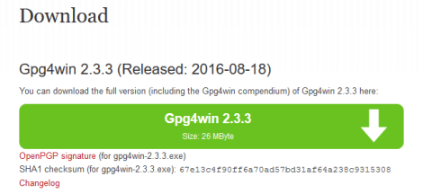 How to download Gpg4win