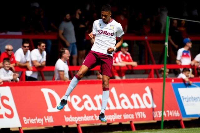 Harvey Knibbs Aston Villa