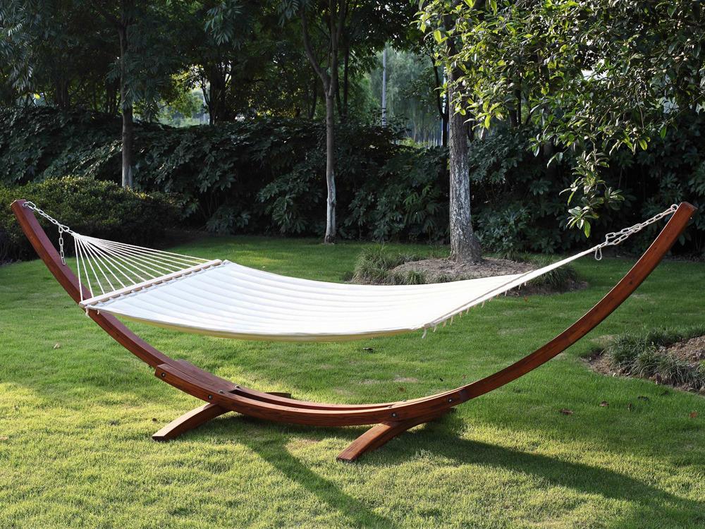 support de hamac bois relax dallas