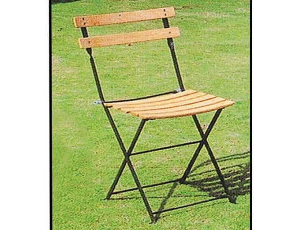 chaise jardin pliante bistrot hetre