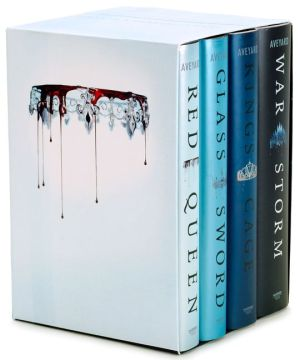 Red Queen 4 Book Hardcover Box Set   Victoria Aveyard   Hardcover Red Queen 4 Book Hardcover Box Set