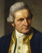 Captain/Explorer James Cook