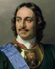 Russian Tsar Peter the Great