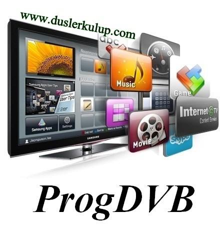 3q8372 ProgDVB 7.19.7 32/64 Bit Tv İzleme Programını Türkçe İndir