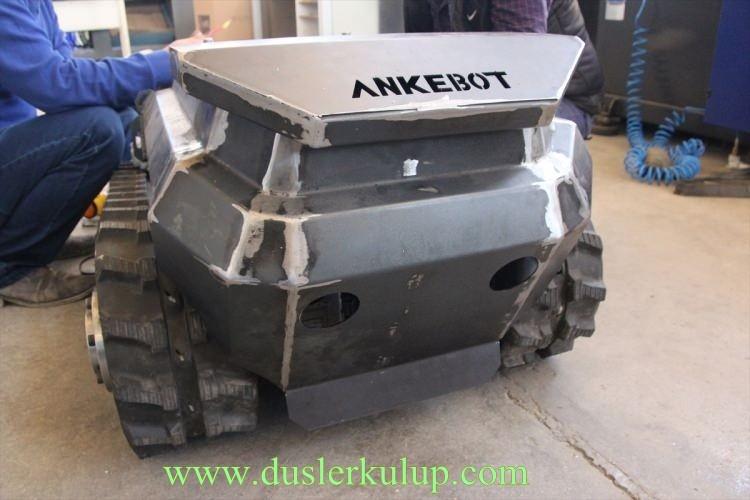 ErG9WD Yerli Yapım Milli Zırhlı Mini Tank Ankebot Hakkında Bilgi