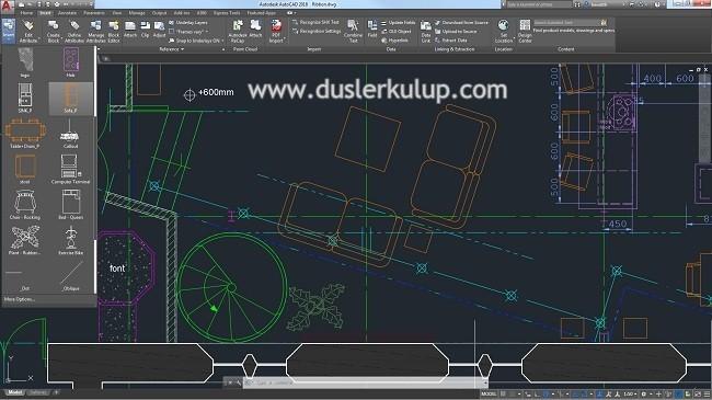 PrWLNN Autodesk Autocad 2014 Çizim Programını Full Türkçe İndir