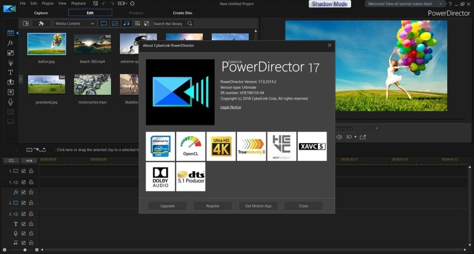 WXmPJ4 CyberLink PowerDirector Ultimate Video Editörü Full İndir