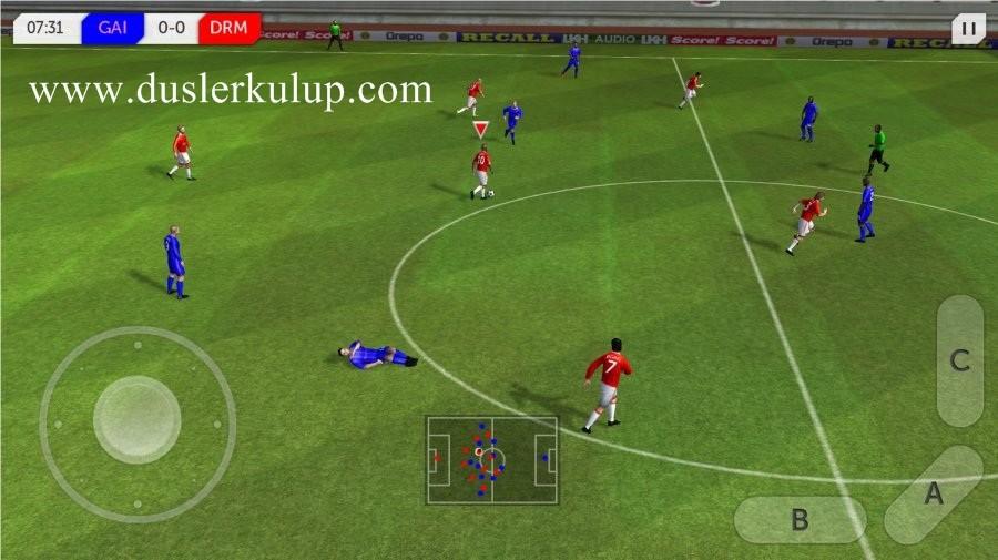 dream league soccer 2017 android futbol oyununu yükle