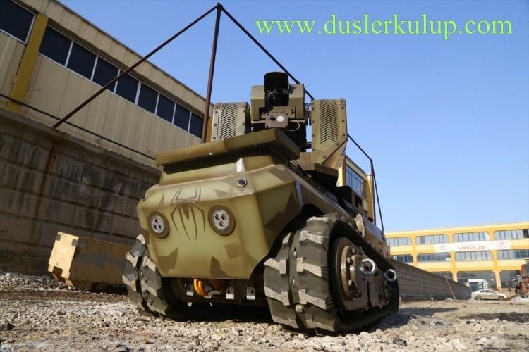 YqnZ8D Yerli Yapım Milli Zırhlı Mini Tank Ankebot Hakkında Bilgi