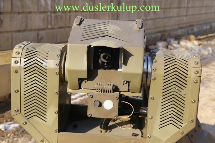 m4OAg2 Yerli Yapım Milli Zırhlı Mini Tank Ankebot Hakkında Bilgi