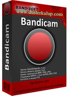 bandicam oyun videosu kaydetme programı