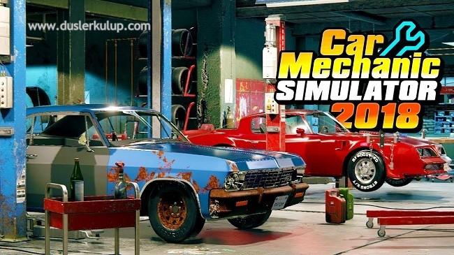 zBq4k9 Car Mechanic Simulatör 2018 Pc Oyununu Türkçe Full indir