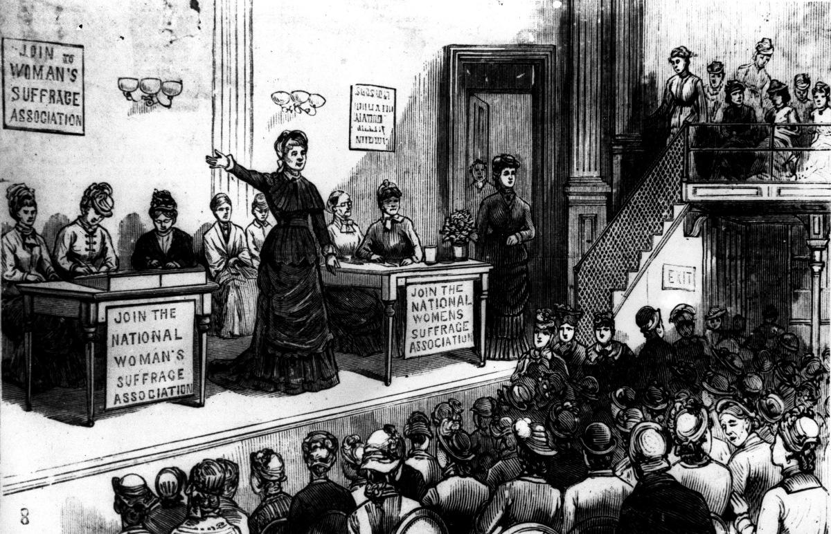 Women S Suffrage In Chicago A Century Ago Women Fight