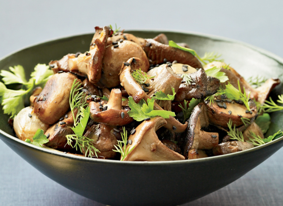 Image result for mushrooms cooked