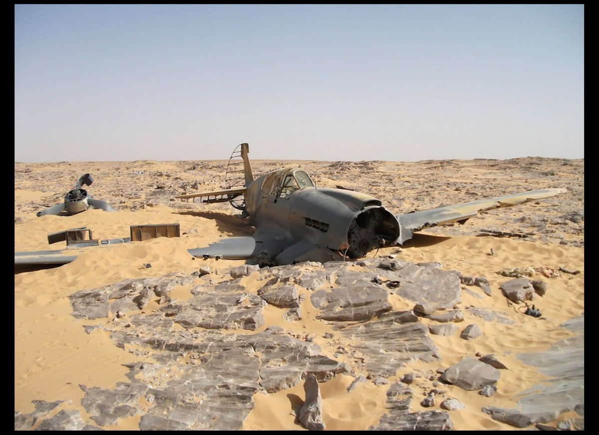 WWII Plane Discovered Preserved In Sahara Desert