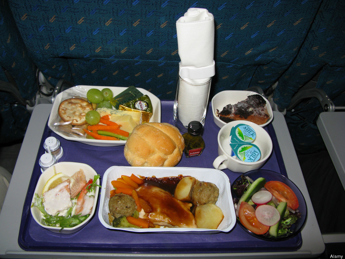 Image result for airplane food