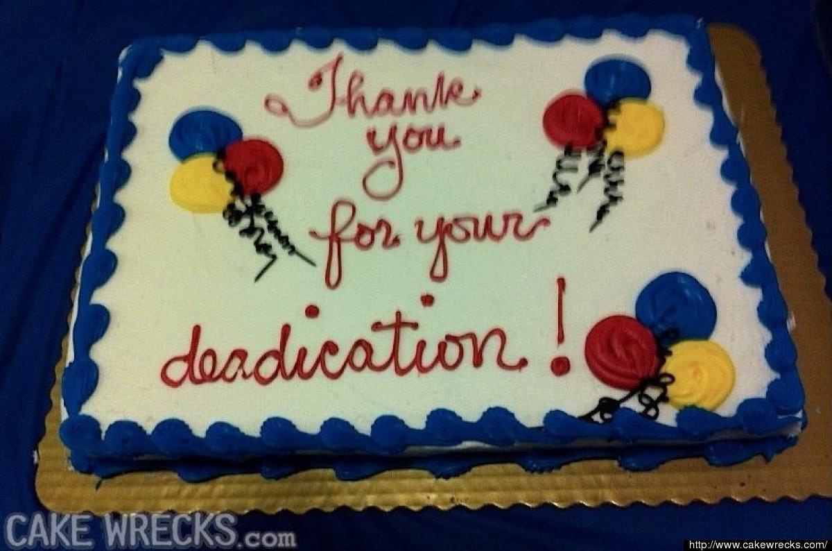 Cake Wrecks Awkward 50th Birthday And Retirement Cakes