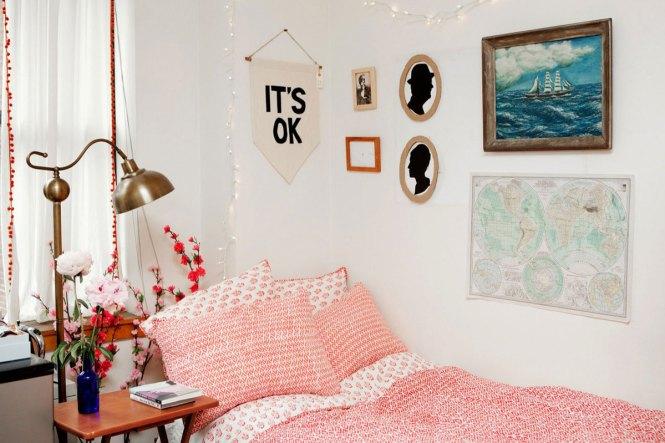Image Of College Dorm Bedding