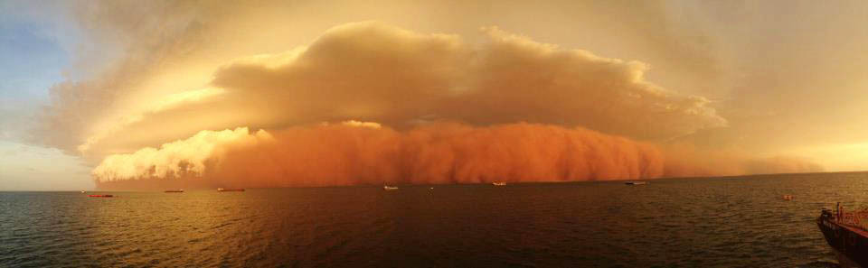 dust storm cyclone narelle 2013