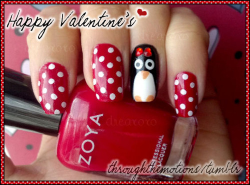 20 Ridiculously Cute Valentine S Day Nail Art Designs