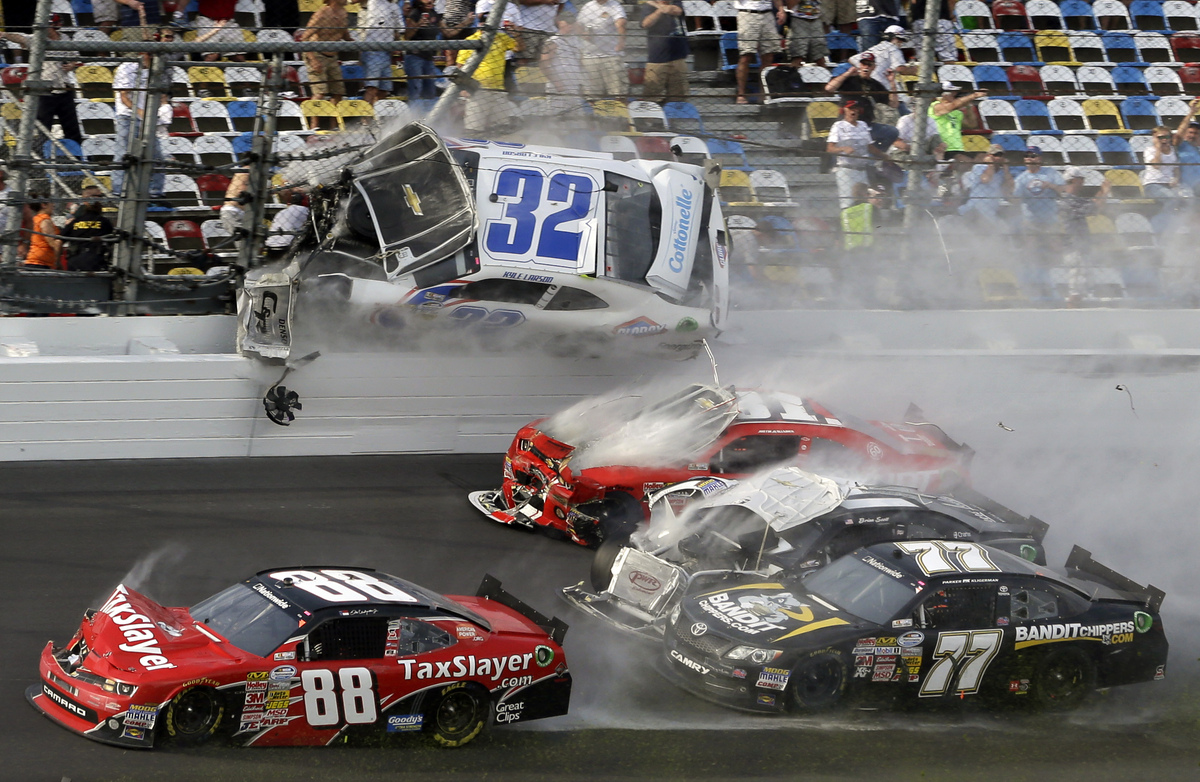 Daytona crash 2013