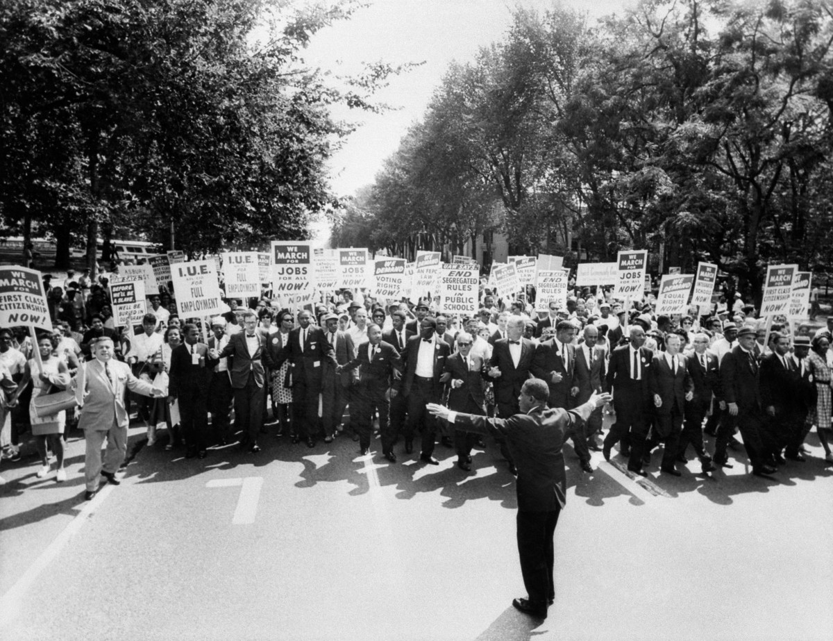 March On Washington Eyewitnesses To History Look