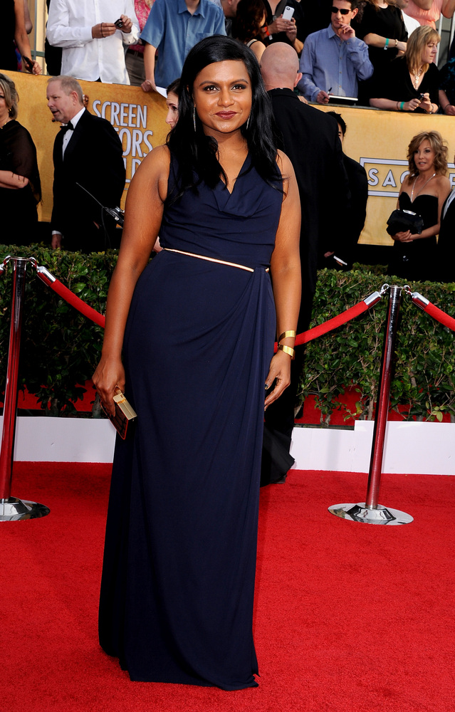 Mindy Kaling | SAG Awards Best Dressed | The 1000th Voice Blog