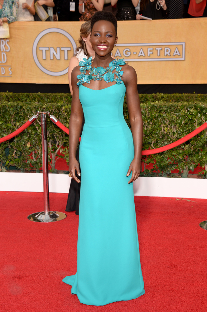 Lupita Nyong'o | SAG Awards Best Dressed | The 1000th Voice Blog