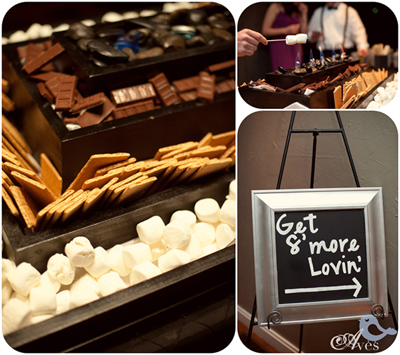 Fun Wedding Idea-s'mores-bar