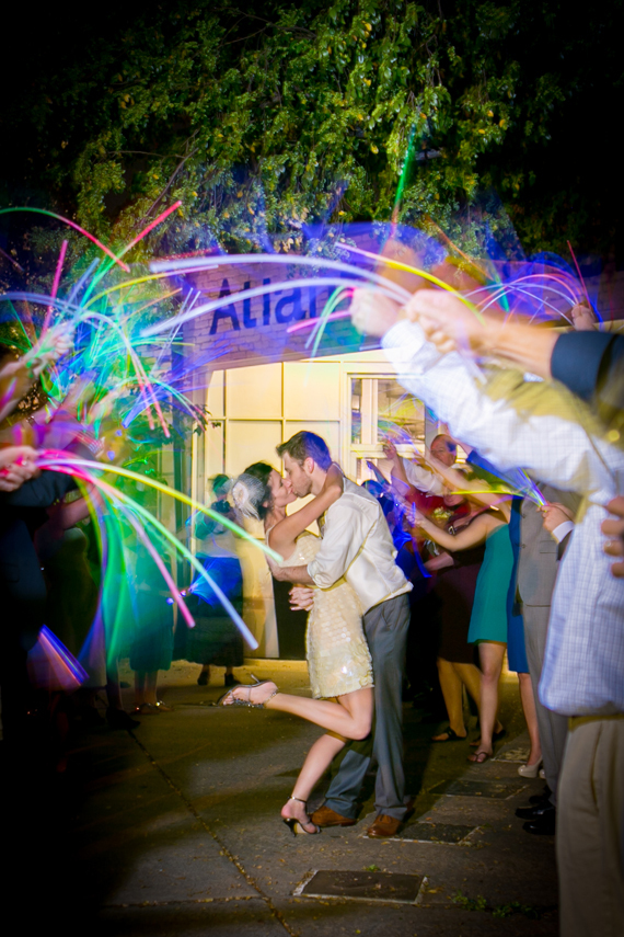 Fun Wedding Idea-glow sticks
