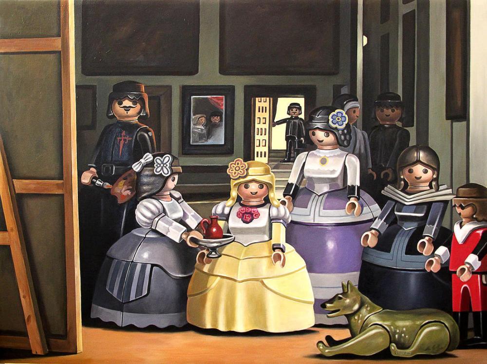 [Culture - Art - Photo] Des Playmobil pour revisiter les classiques de la peinture (6/6)