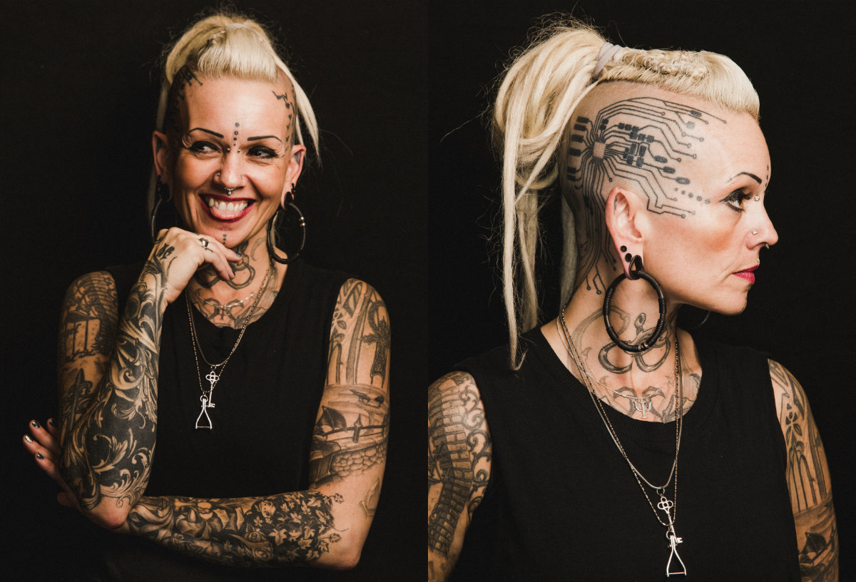The Beauty show of Women Body Modification