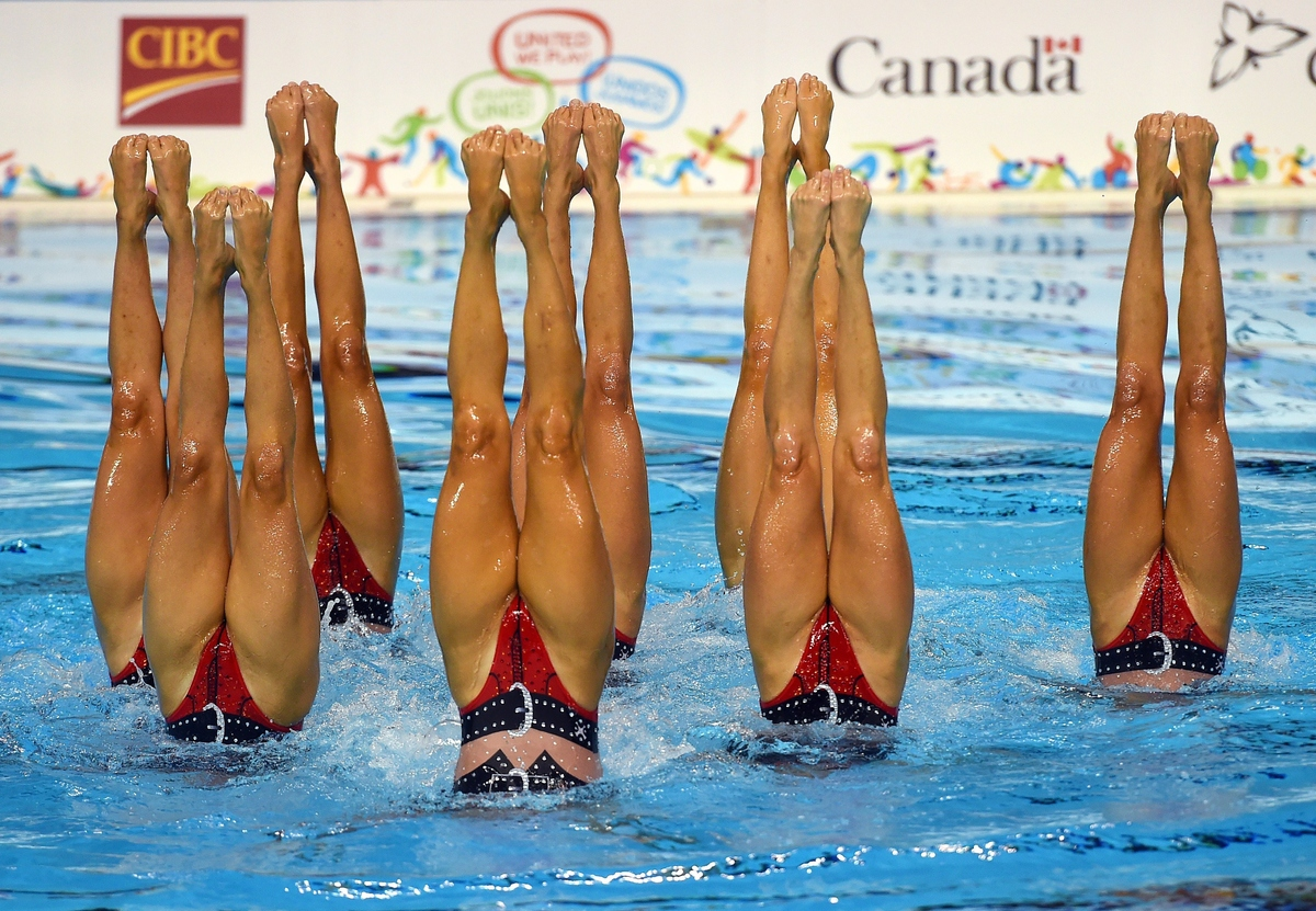 Image result for synchronized swimming