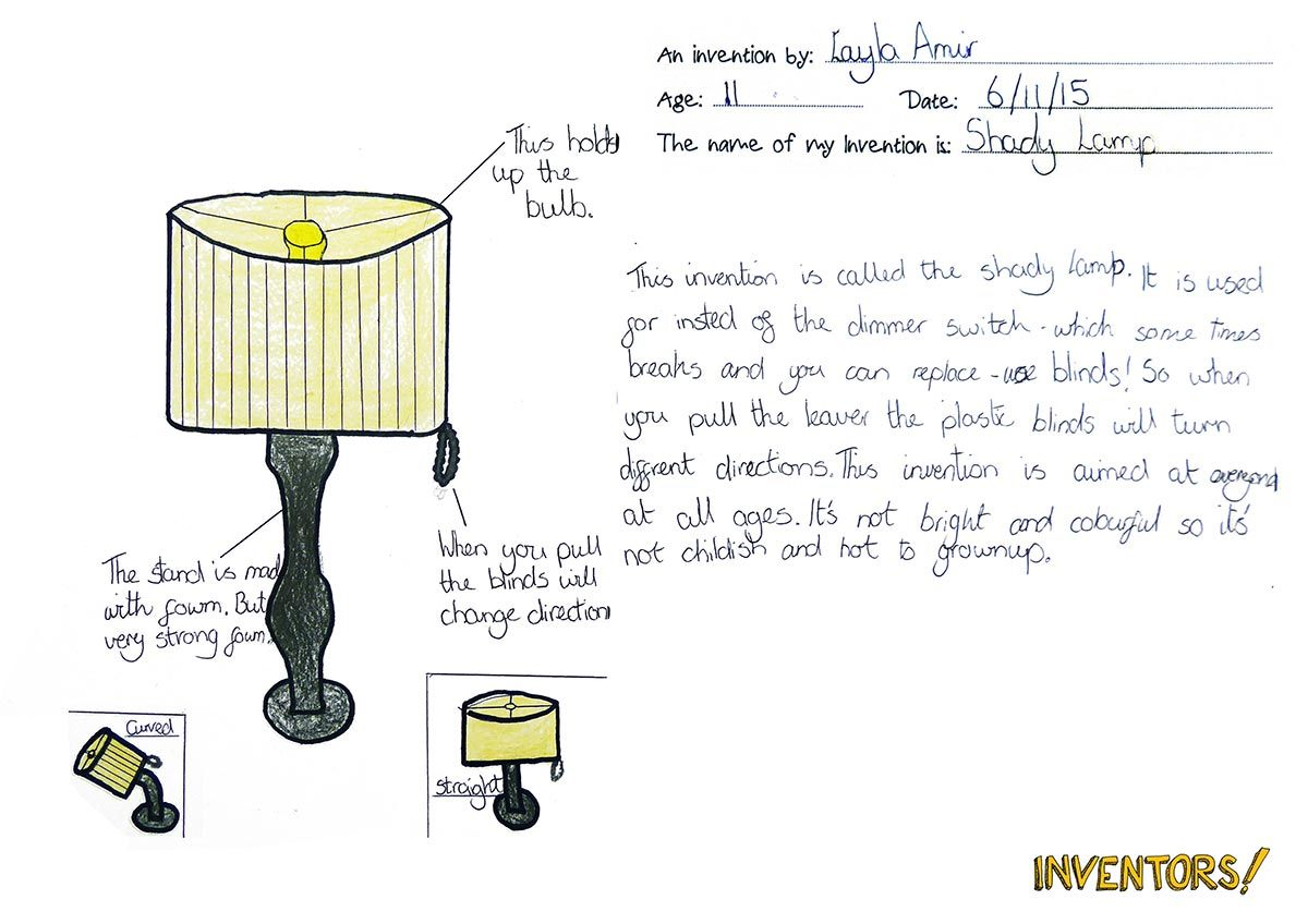 Kids Asked To Draw Their Own Unique Inventions Designer