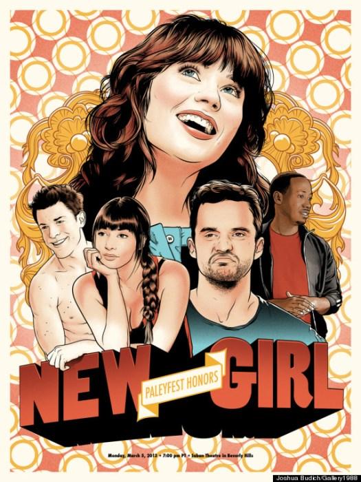 new girl paleyfest poster